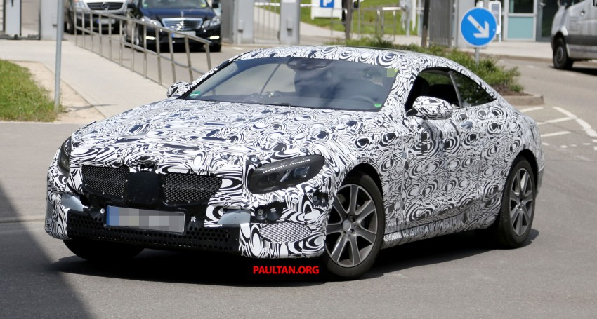 C217 Mercedes-Benz S-Class Coupe – new exterior details and first glimpse of interior Image #180379