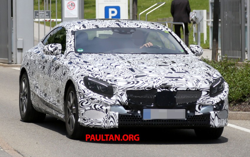 C217 Mercedes-Benz S-Class Coupe – new exterior details and first glimpse of interior Image #180380