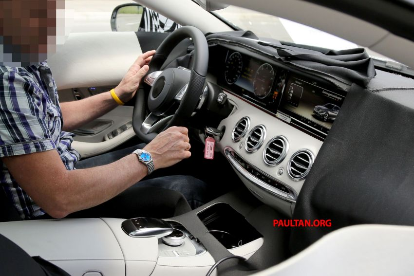 C217 Mercedes-Benz S-Class Coupe – new exterior details and first glimpse of interior Image #180383