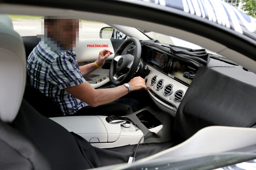 C217 Mercedes-Benz S-Class Coupe – new exterior details and first glimpse of interior Image #180384