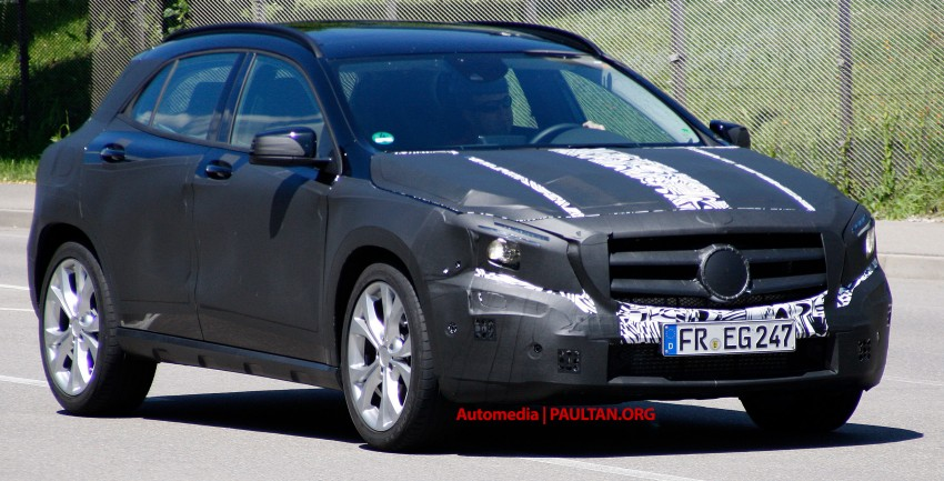 VIDEO: Mercedes-Benz GLA Class on the Nordschliefe Image #180405