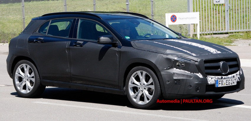 VIDEO: Mercedes-Benz GLA Class on the Nordschliefe Image #180406