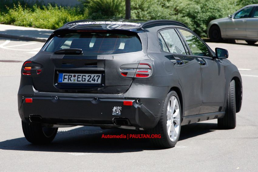 VIDEO: Mercedes-Benz GLA Class on the Nordschliefe Image #180407