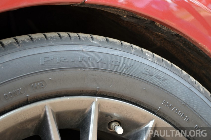 Michelin Primacy 3 ST tyres tested in Thailand – new touring tyre is now available in Malaysia Image #180455