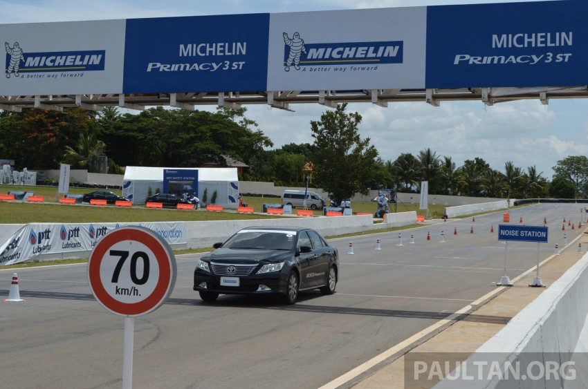 Michelin Primacy 3 ST tyres tested in Thailand – new touring tyre is now available in Malaysia Image #180458