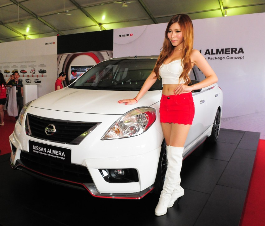 Nissan Almera Nismo Performance Package Concept Image #180950