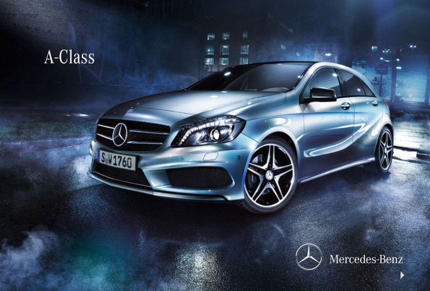 Mercedes-Benz A-Class launched – A 200, A 250 Sport Image #183377