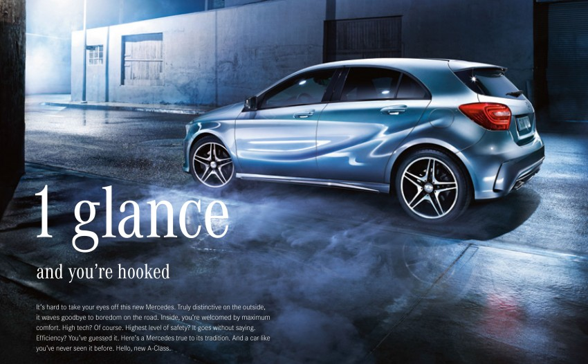 Mercedes-Benz A-Class launched – A 200, A 250 Sport Image ...