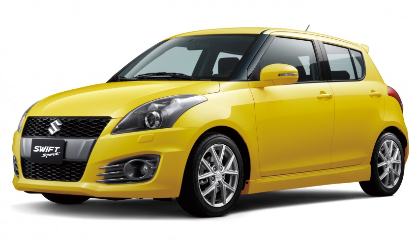 Second-generation Suzuki Swift Sport launched here – 1.6 litre, 134 hp, 160Nm, manual RM98k, CVT RM103k Image #178724