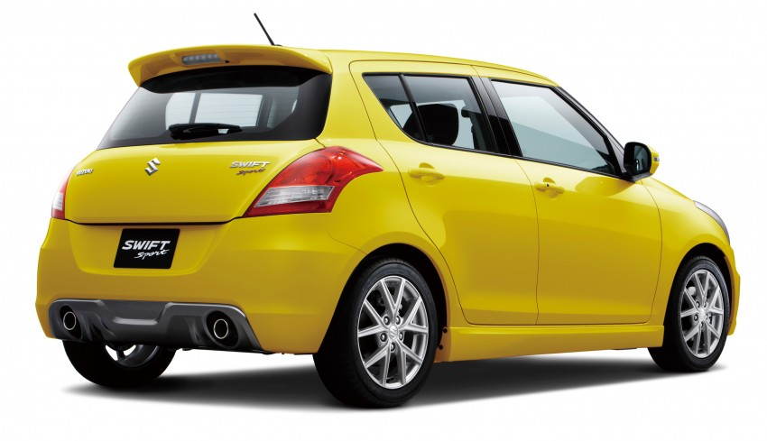 Second-generation Suzuki Swift Sport launched here – 1.6 litre, 134 hp, 160Nm, manual RM98k, CVT RM103k Image #178725