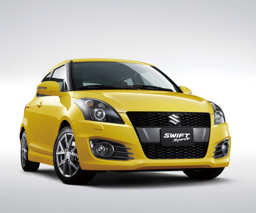 Second-generation Suzuki Swift Sport launched here – 1.6 litre, 134 hp, 160Nm, manual RM98k, CVT RM103k Image #178726