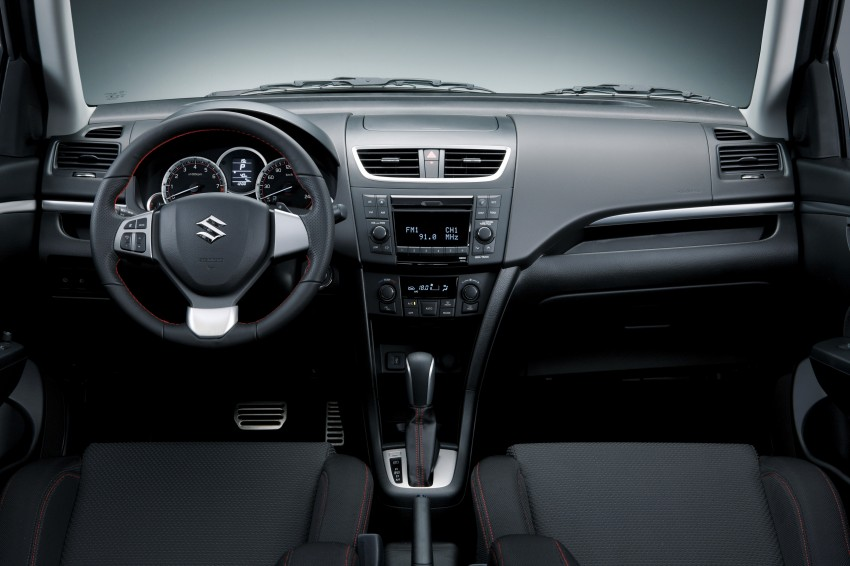 Second-generation Suzuki Swift Sport launched here – 1.6 litre, 134 hp, 160Nm, manual RM98k, CVT RM103k Image #178727