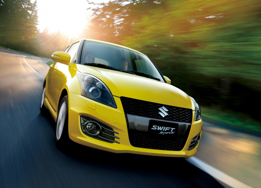 Second-generation Suzuki Swift Sport launched here – 1.6 litre, 134 hp, 160Nm, manual RM98k, CVT RM103k Image #178741