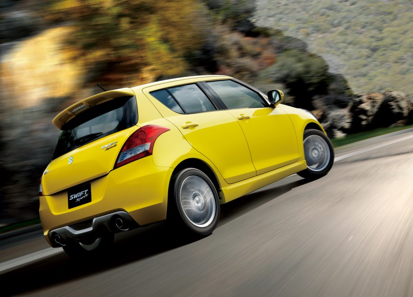 Second-generation Suzuki Swift Sport launched here – 1.6 litre, 134 hp, 160Nm, manual RM98k, CVT RM103k Image #178742