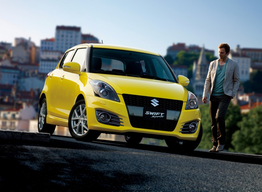 Second-generation Suzuki Swift Sport launched here – 1.6 litre, 134 hp, 160Nm, manual RM98k, CVT RM103k Image #178743