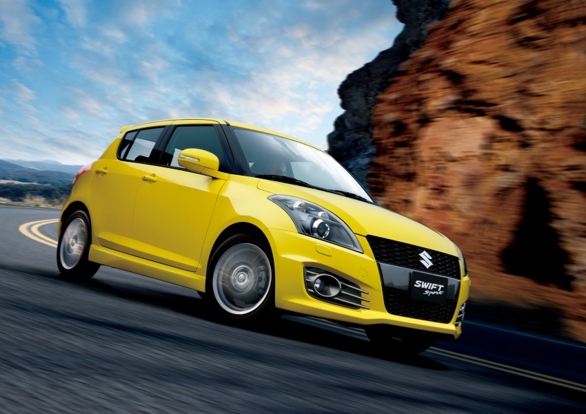 Second-generation Suzuki Swift Sport launched here – 1.6 litre, 134 hp, 160Nm, manual RM98k, CVT RM103k Image #178744