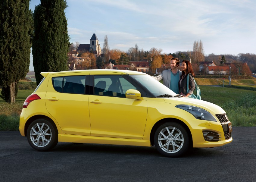 Second-generation Suzuki Swift Sport launched here – 1.6 litre, 134 hp, 160Nm, manual RM98k, CVT RM103k Image #178745