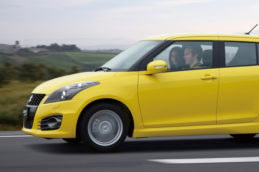 Second-generation Suzuki Swift Sport launched here – 1.6 litre, 134 hp, 160Nm, manual RM98k, CVT RM103k Image #178748