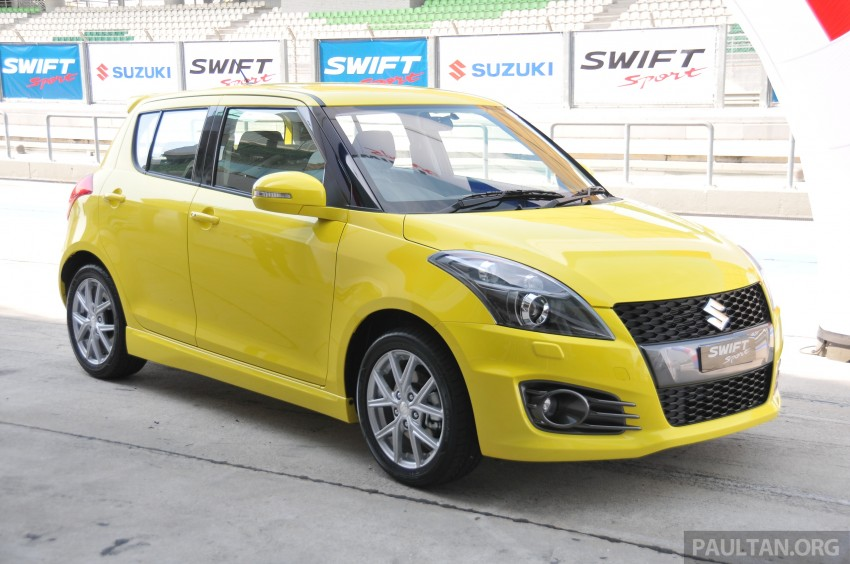 Second-generation Suzuki Swift Sport launched here – 1.6 litre, 134 hp, 160Nm, manual RM98k, CVT RM103k Image #178765