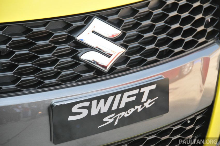 Second-generation Suzuki Swift Sport launched here – 1.6 litre, 134 hp, 160Nm, manual RM98k, CVT RM103k Image #178781