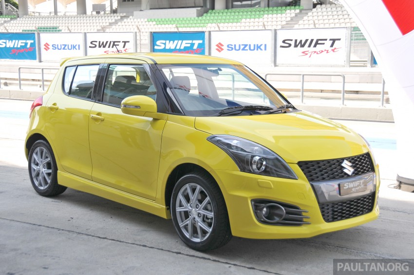 Second-generation Suzuki Swift Sport launched here – 1.6 litre, 134 hp, 160Nm, manual RM98k, CVT RM103k Image #178857