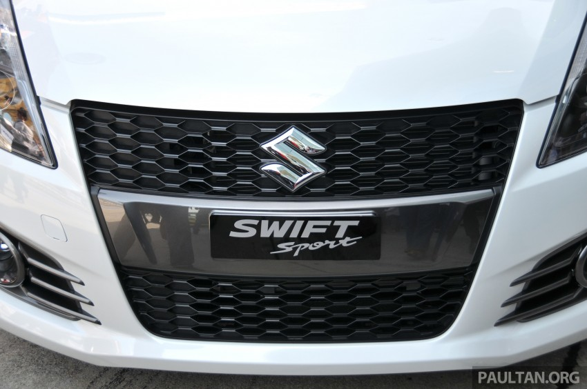 Second-generation Suzuki Swift Sport launched here – 1.6 litre, 134 hp, 160Nm, manual RM98k, CVT RM103k Image #178873