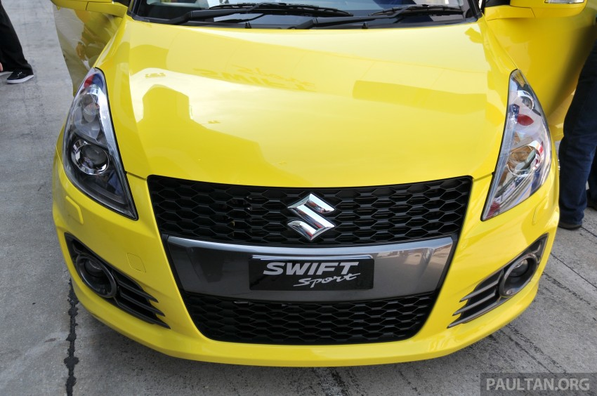 Second-generation Suzuki Swift Sport launched here – 1.6 litre, 134 hp, 160Nm, manual RM98k, CVT RM103k Image #178874