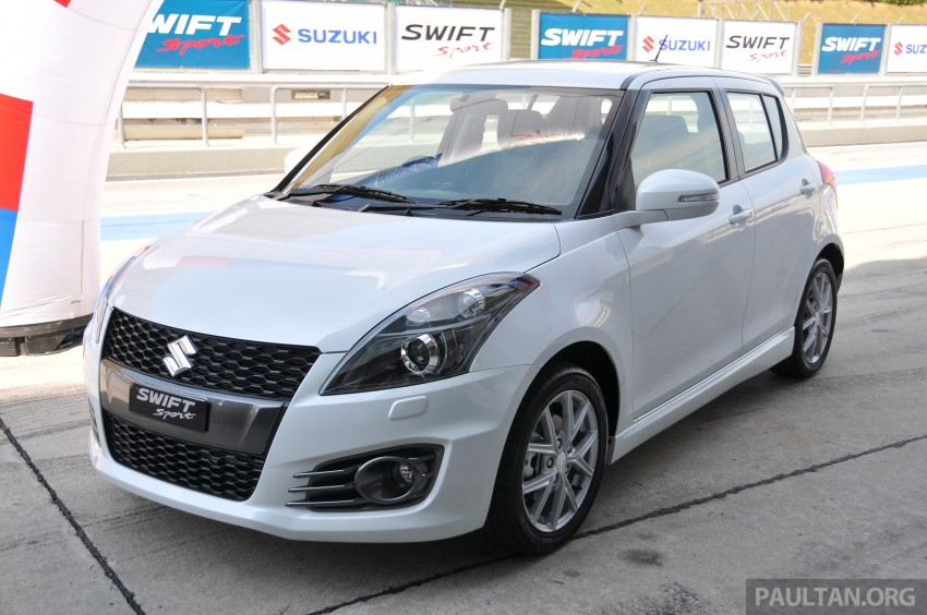 Second-generation Suzuki Swift Sport launched here – 1.6 litre, 134 hp, 160Nm, manual RM98k, CVT RM103k Image #178766