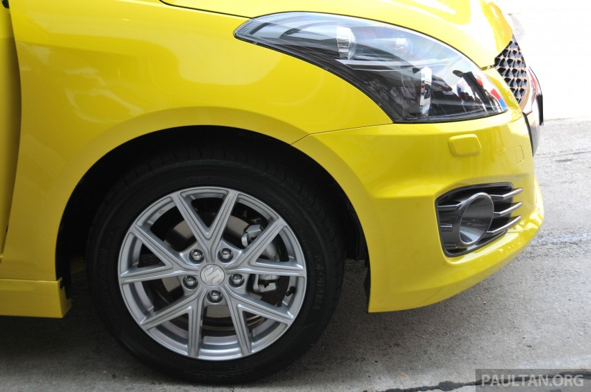 Second-generation Suzuki Swift Sport launched here – 1.6 litre, 134 hp, 160Nm, manual RM98k, CVT RM103k Image #178876