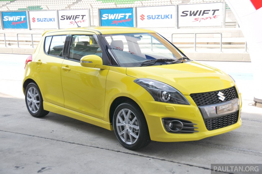 Second-generation Suzuki Swift Sport launched here – 1.6 litre, 134 hp, 160Nm, manual RM98k, CVT RM103k Image #178858