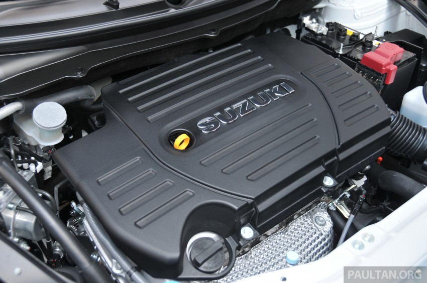 Second-generation Suzuki Swift Sport launched here – 1.6 litre, 134 hp, 160Nm, manual RM98k, CVT RM103k Image #178884