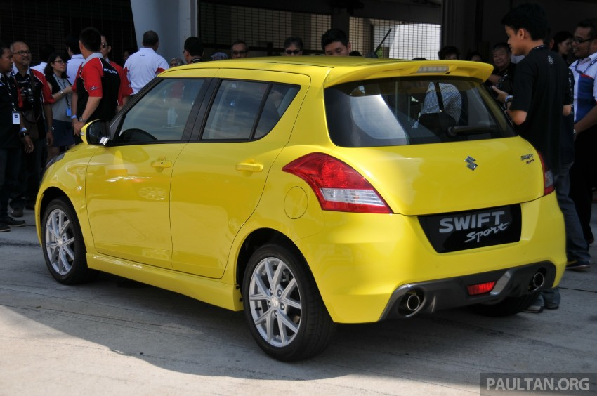 Second-generation Suzuki Swift Sport launched here – 1.6 litre, 134 hp, 160Nm, manual RM98k, CVT RM103k Image #178767