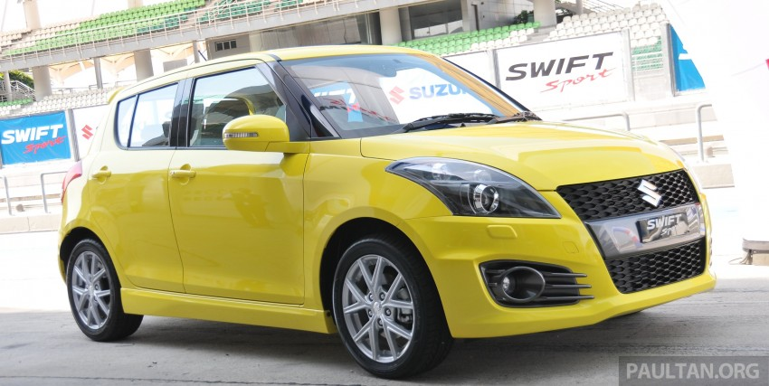 Second-generation Suzuki Swift Sport launched here – 1.6 litre, 134 hp, 160Nm, manual RM98k, CVT RM103k Image #178859