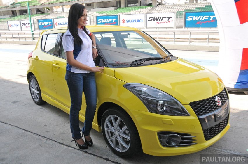 Second-generation Suzuki Swift Sport launched here – 1.6 litre, 134 hp, 160Nm, manual RM98k, CVT RM103k Image #178860