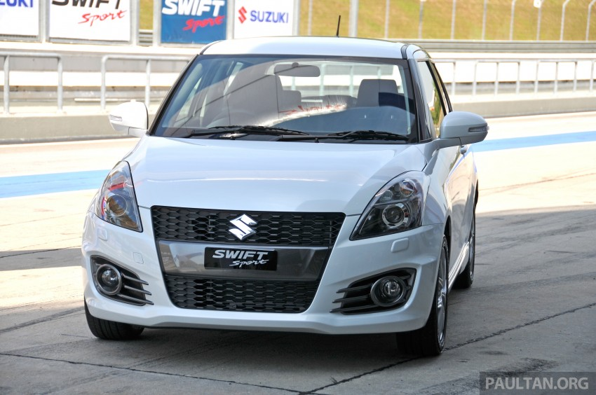 Second-generation Suzuki Swift Sport launched here – 1.6 litre, 134 hp, 160Nm, manual RM98k, CVT RM103k Image #178861