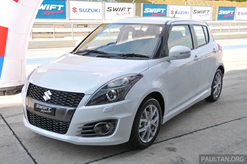 Second-generation Suzuki Swift Sport launched here – 1.6 litre, 134 hp, 160Nm, manual RM98k, CVT RM103k Image #178862