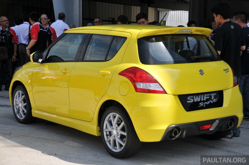 Second-generation Suzuki Swift Sport launched here – 1.6 litre, 134 hp, 160Nm, manual RM98k, CVT RM103k Image #178863