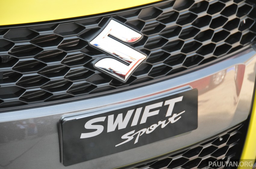 Second-generation Suzuki Swift Sport launched here – 1.6 litre, 134 hp, 160Nm, manual RM98k, CVT RM103k Image #178865