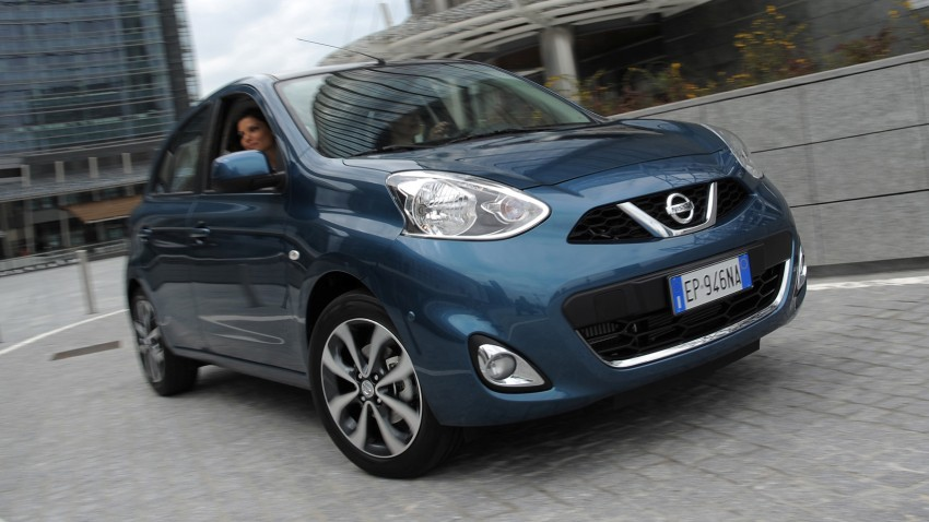Updated Nissan Micra for Europe gets a major revamp Image #178109