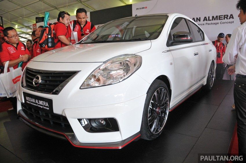 Nissan Almera Nismo Performance Package Concept Image #180879