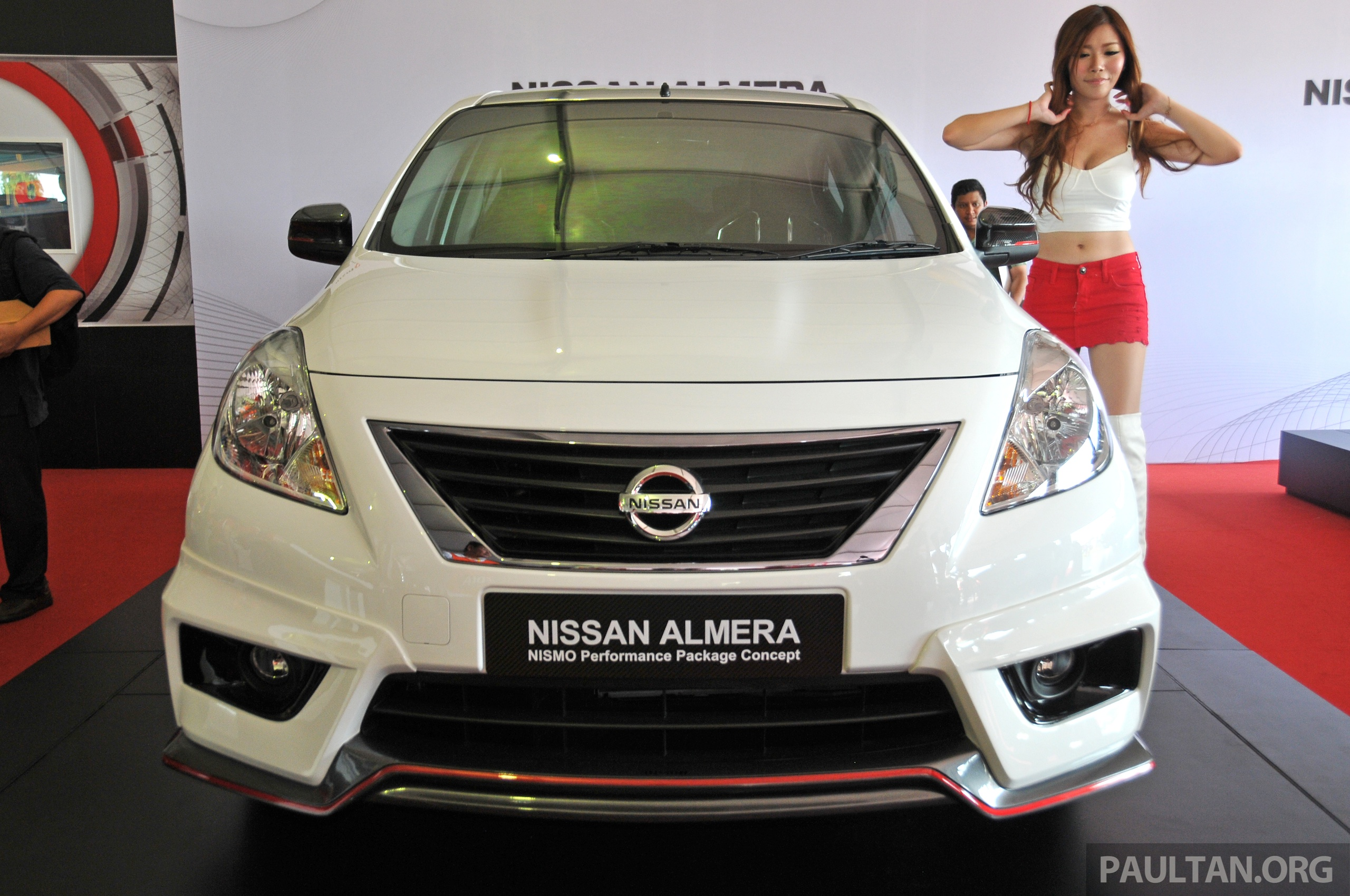 Nissan Almera Impul Bodykitnissan With Bodykit To Join Nismo Black Performance Package Concept