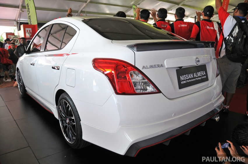 Nissan Almera Nismo Performance Package Concept Image #180881