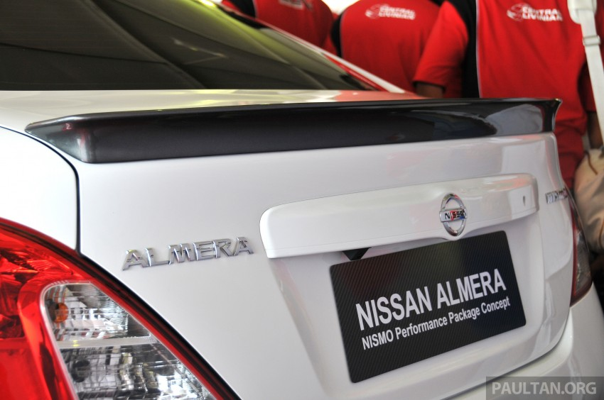 Nissan Almera Nismo Performance Package Concept Image #180882