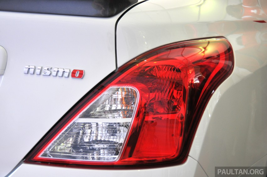 Nissan Almera Nismo Performance Package Concept Image #180885
