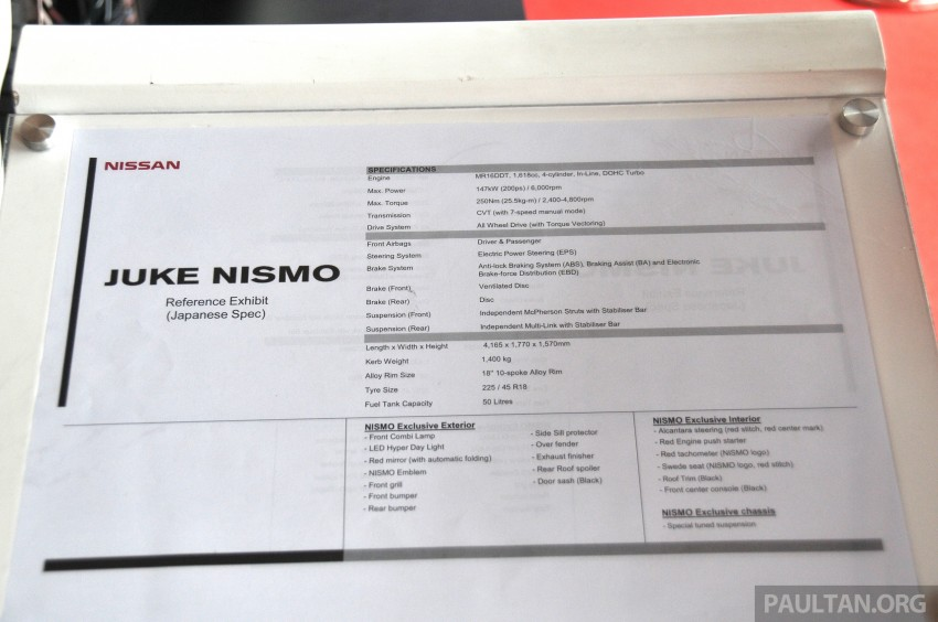 Nissan Almera Nismo Performance Package Concept Image #180888