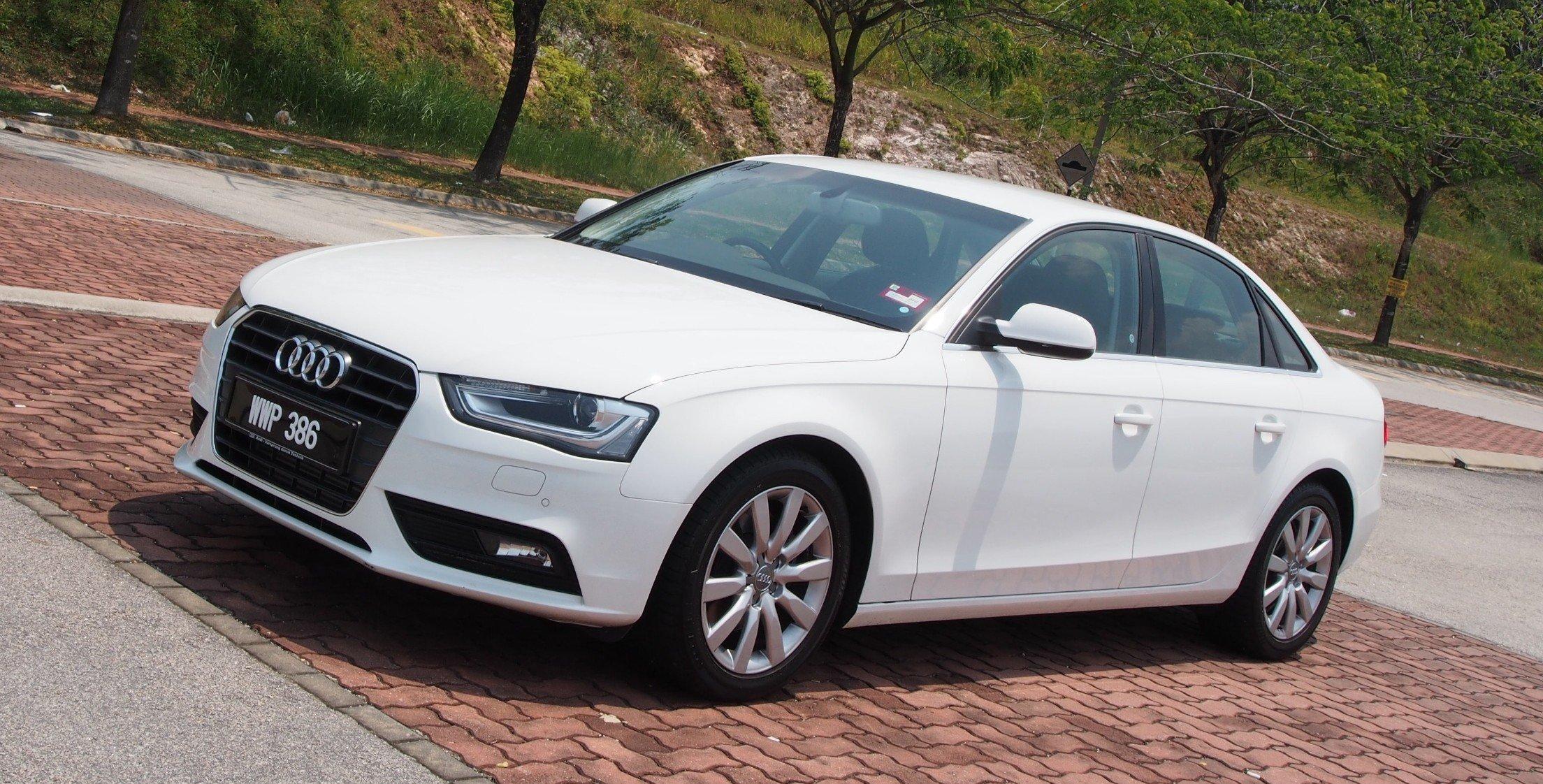 Kekurangan Audi A4 1.8 Review