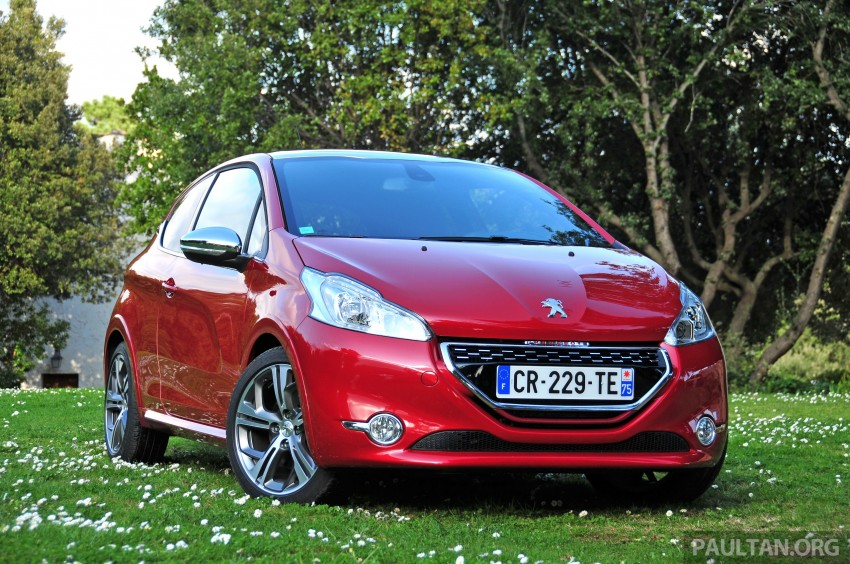 DRIVEN: New Peugeot 208 GTi in the South of France Image #179081
