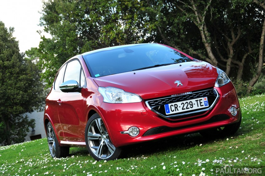 DRIVEN: New Peugeot 208 GTi in the South of France Image #179082
