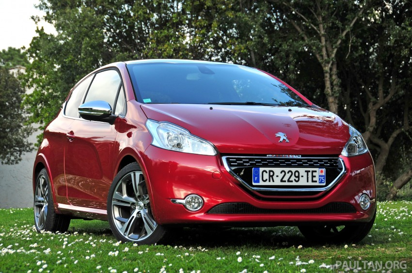 DRIVEN: New Peugeot 208 GTi in the South of France Image #179083