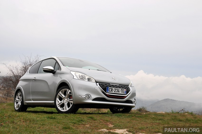 DRIVEN: New Peugeot 208 GTi in the South of France Image #179085